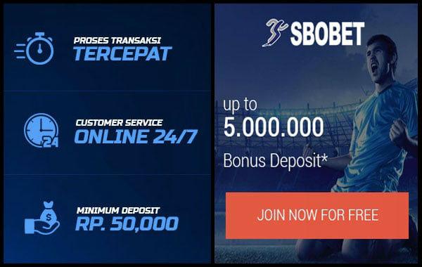 Deposit dalam jumlah besar di sbobet